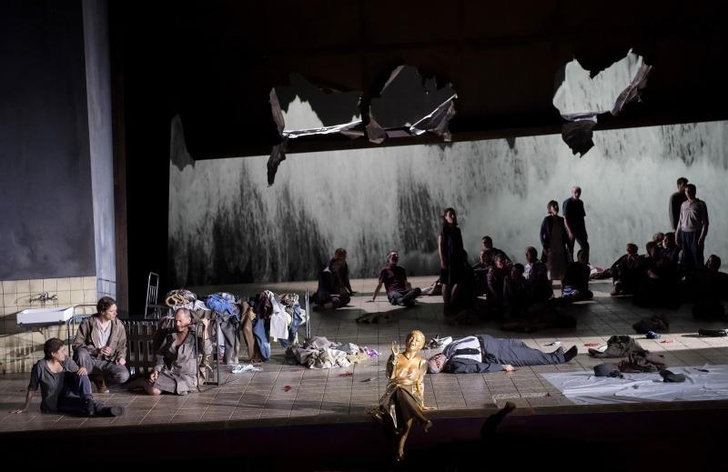 Iphigenie mit Cecilia Bartol © Salzburger Festspiele / Monika Rittershaus, E-Mail: monikarittershaus@web.de